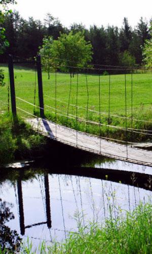Marks Nine Golf The Swinging Bridge